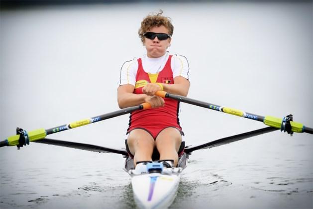 Eveline Peleman finisht vierde in D-finale WK roeien