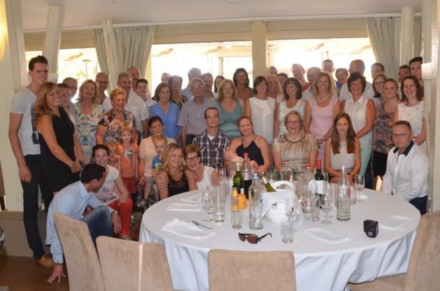 Familie Copermans houdt reünie