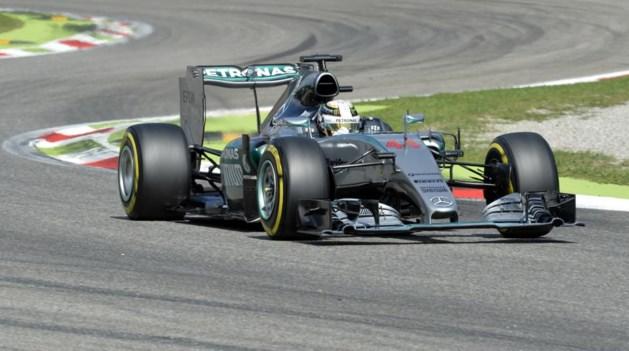 Lewis Hamilton verovert polepositie in GP van Italië