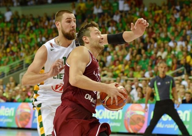 Litouwen verslaat Letland in EK-groep Belgian Lions