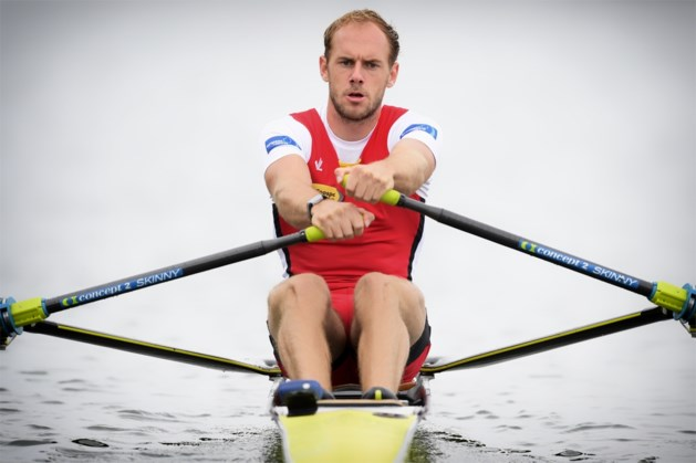 Hannes Obreno grijpt in B-finale skiff naast olympisch ticket
