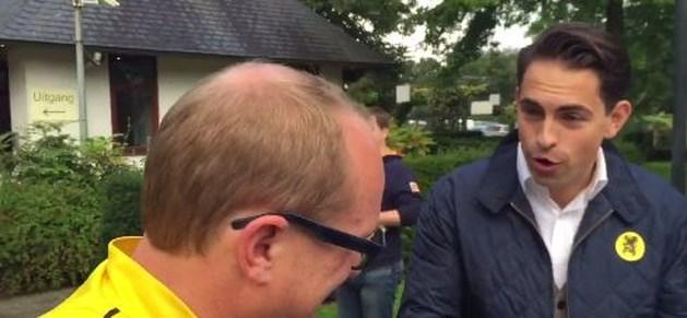 Vlaams Belang voert met hometrainers actie bij start Gordelfestival