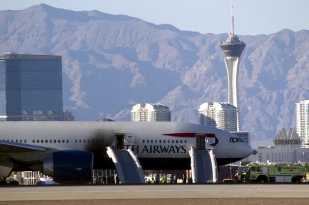 Veertien gewonden nadat vliegtuig vuur vat op luchthaven Las Vegas