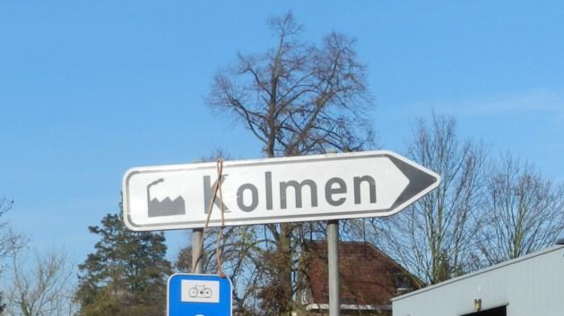 Eenrichtingsverkeer op industrieterrein Kolmen