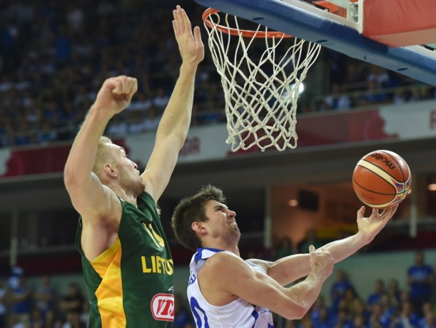 Litouwen springt weer over België op EK basketbal