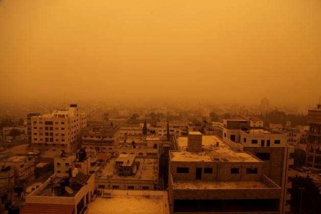 Zandstorm bezegelt lot laatste regeringsbastion in Idlib