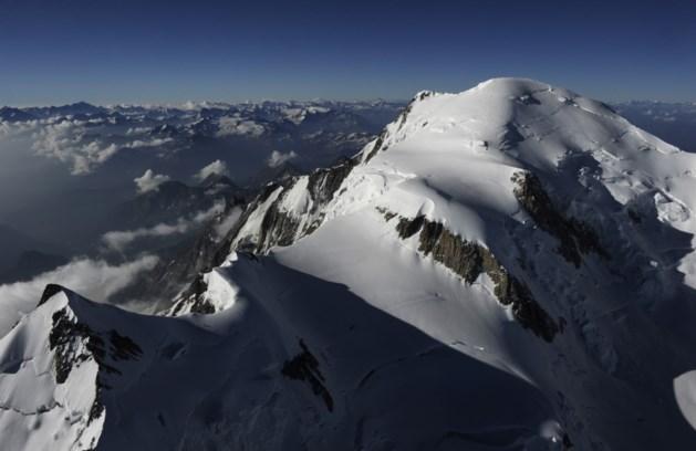 Het gaat bergaf met de Mont Blanc