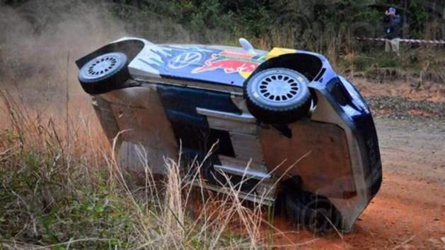 Onwaarschijnlijk dat wereldkampioen rally hier niet crasht