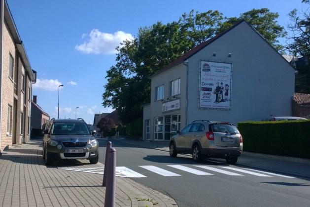 Hoogstraat in Hoeselt heeft nu zebrapad