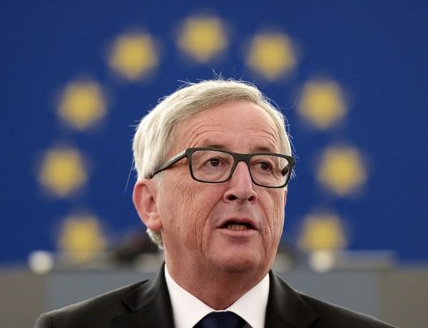 """Juncker: """"Europa moet vluchtelingen opvangen, er is geen alternatief"""""""
