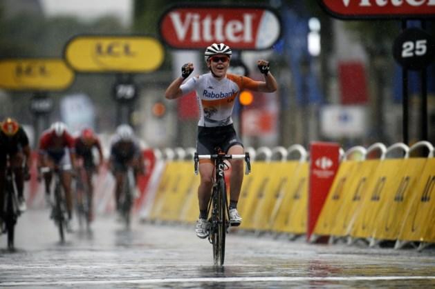 Lotto Belgium Tour Van der Breggen wint slotetappe, Emma Johansson is eindlaureate Lotto Belgium Tour
