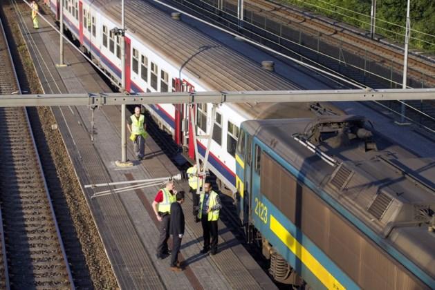 Wagon weggehaald na treinongeval in Buizingen