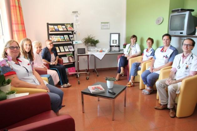 Dienst oncologie installeert koffie en infohoek  voor kankerpatiënten