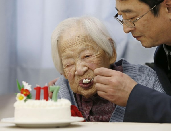 Meer dan 60.000 honderdjarigen in Japan