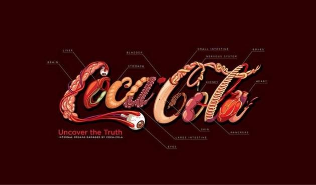 'Eerlijk logo van Coca-Cola' gaat viraal