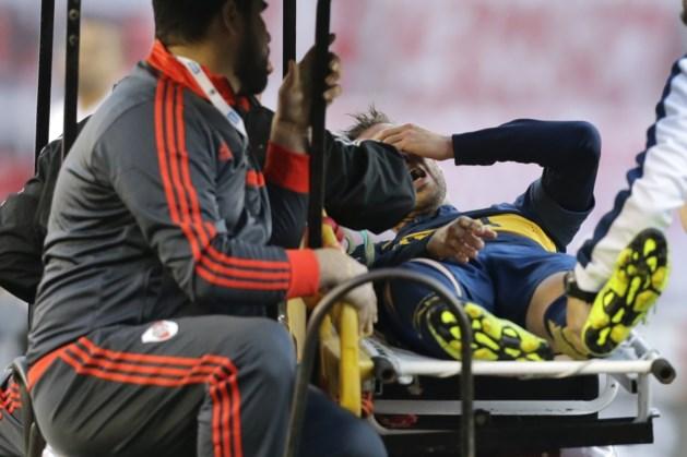 Boca-middenvelder Gago vijf maanden out