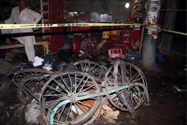 Tien burgers gedood bij zelfmoordaanslag in Pakistan