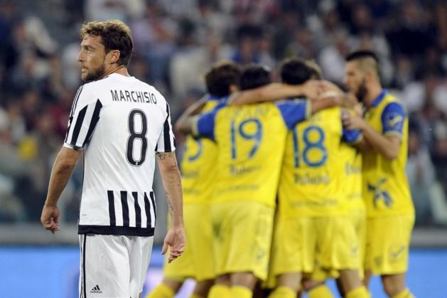 Extra domper voor Juve: Marchisio maand buiten strijd