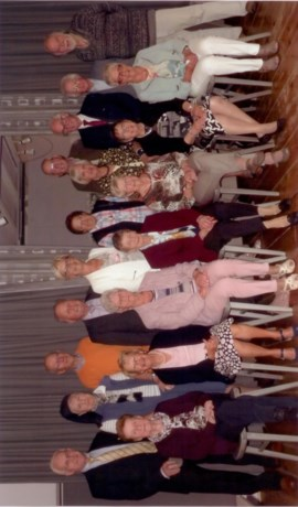 80-jarigen van Hamont komen samen