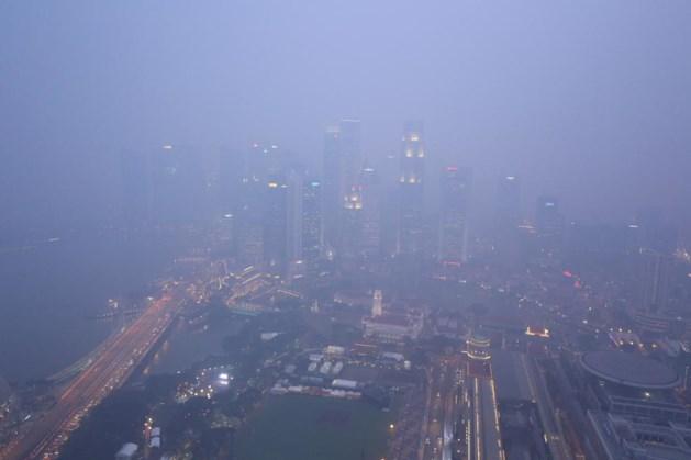 Organisatoren GP van Singapore nemen extra maatregelen tegen smog