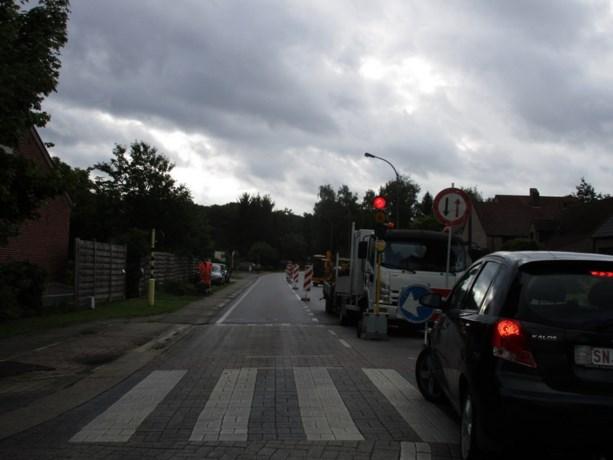 Wegenwerken in Houthalen-Helchteren