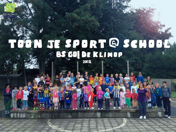 Sport@school in De Klimop