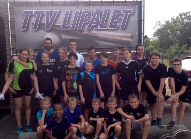 Start nieuw seizoen bij TTV Lipalet