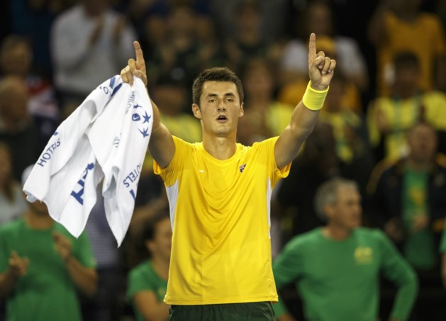 Australië komt in Davis Cup langszij tegen Groot-Brittannië
