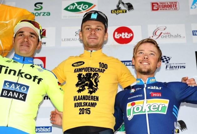 Michal Golas: 'Een eer Kampioen van Vlaanderen te zijn'