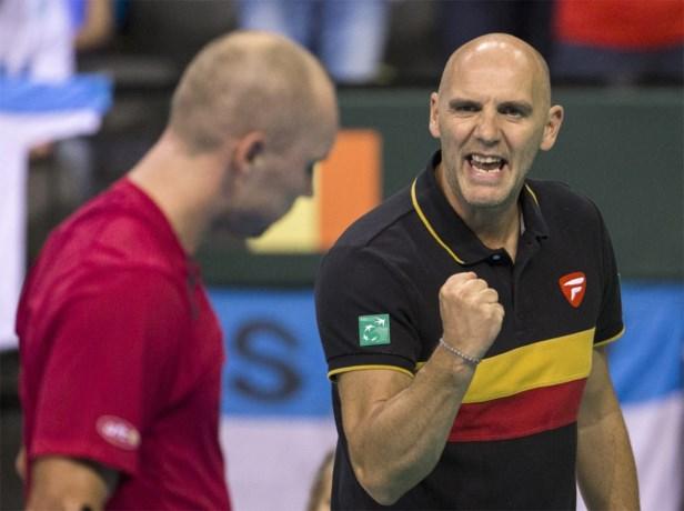 Johan Van Herck: 'We zijn nog altijd favoriet voor Davis Cup-finale'