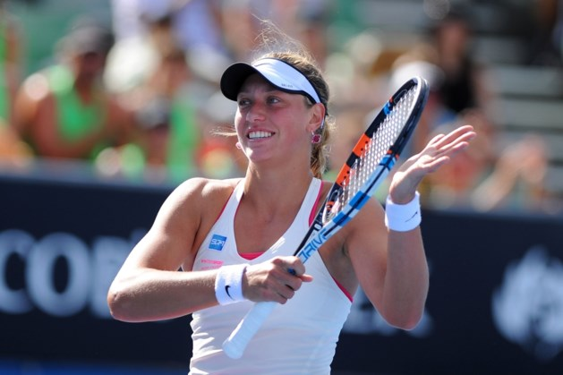 Yanina Wickmayer wint toernooi van Tokyo