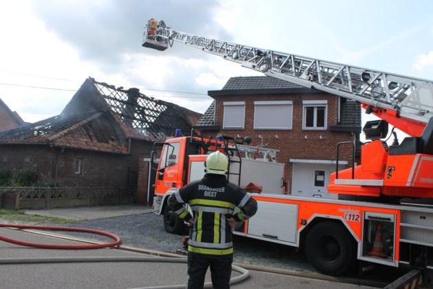 Brand vernielt hoeve van 92-jarige vrouw