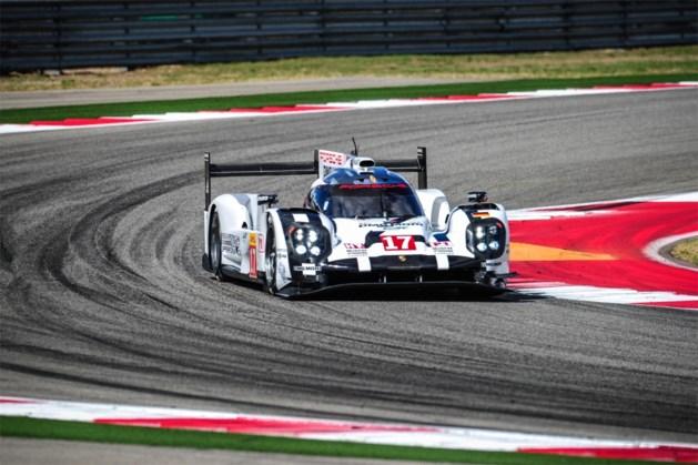 Mark Webber wint in een Porsche de 'zes uren van Austin'
