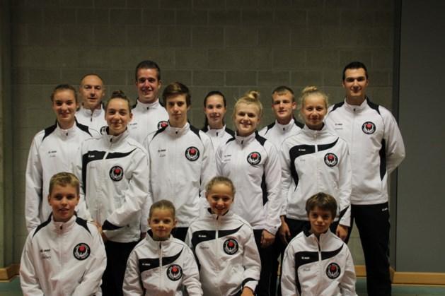 Karateclub KCAR naar EK in Denemarken