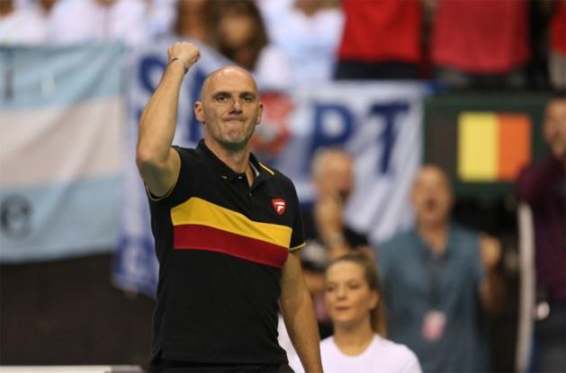 Davis Cup-coach Johan Van Herck: 'Dit was een speciale wedstrijd'