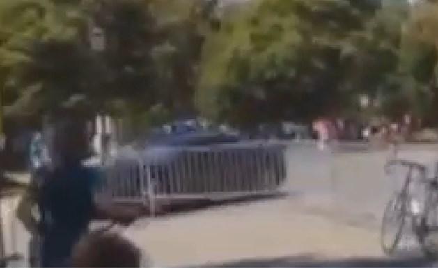 Politieachtervolging eindigt op parcours WK ploegentijdrit