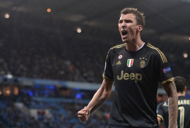 Mandzukic drie weken aan de kant bij Juventus