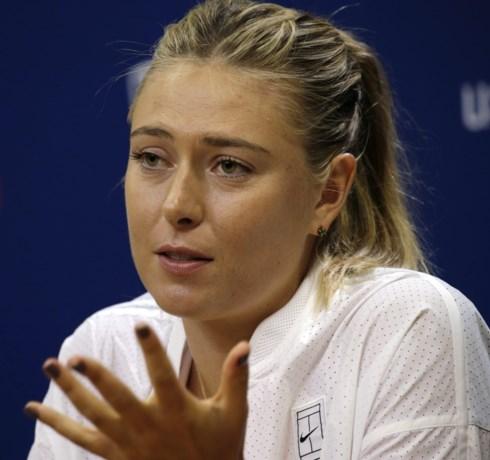 Sharapova maakt volgende week haar wederoptreden in China