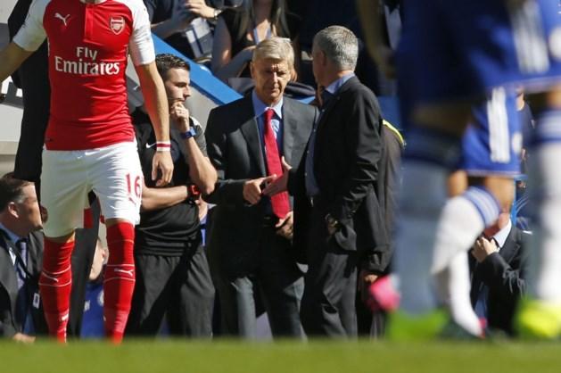 Mourinho deelt sneer uit aan Wenger: 'Kern om kampioen te spelen'