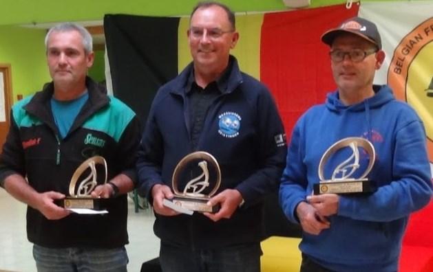 Paul Verlinden Belgisch kampioen feedervissen
