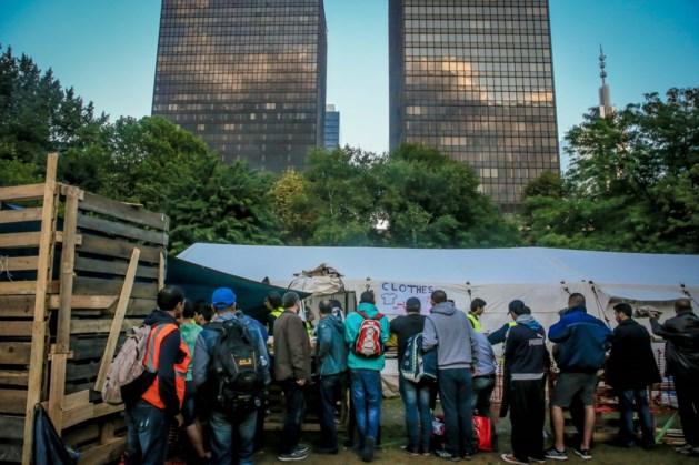 Bijna vijfhonderd vluchtelingen overnachten in WTC III
