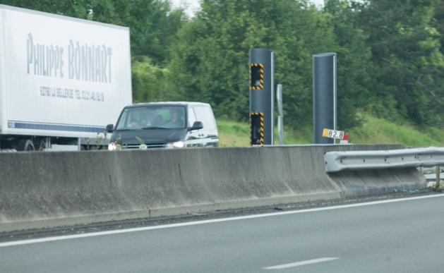 Recordaantal Belgen geflitst in Frankrijk