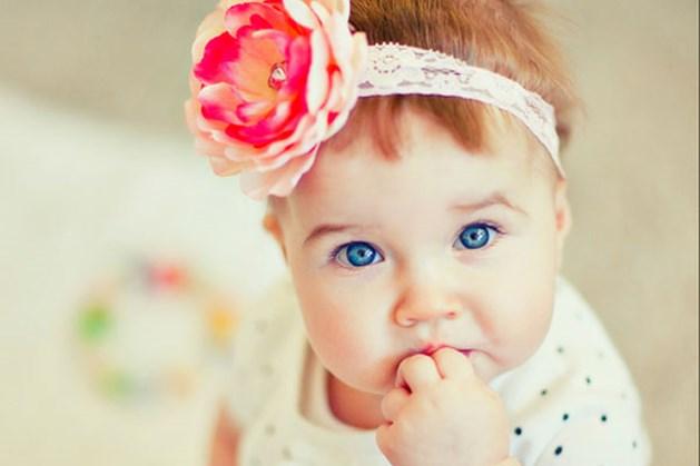 Baby van acht maanden is een ster op Instagram