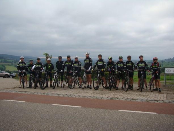Lake Bikers op clubweekend in Epen