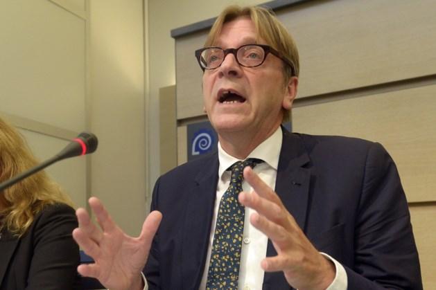 Verhofstadt: 'EU moet vanavond miljard euro overmaken aan VN'