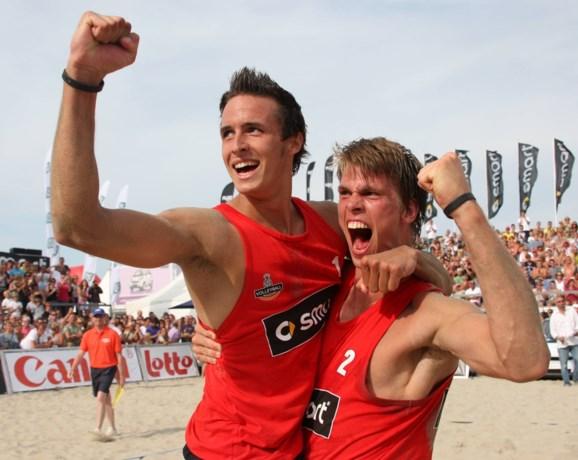 Dries Koekelkoren en Tom Van Walle vijfde op beachvolley Masters in Milaan