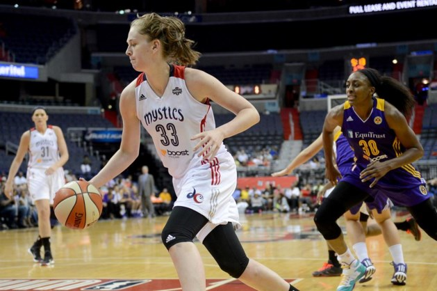 Emma Meesseman en Washington stranden in 1e ronde play-offs WNBA