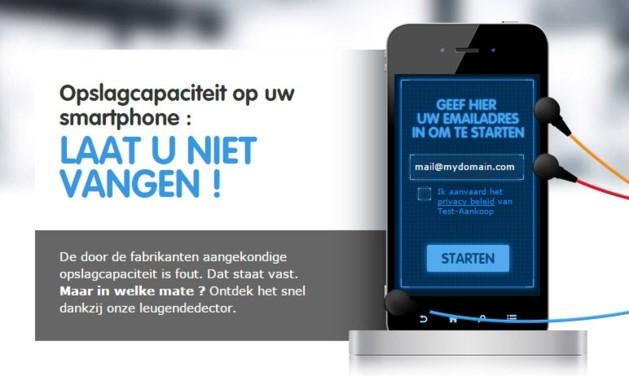 Test-Aankoop dient klacht in tegen 'bedrog' van smartphoneproducenten