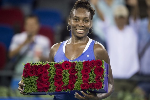 Venus Williams rondt kaap van 700 overwinningen