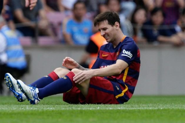 Lionel Messi dankt fans voor steunberichten